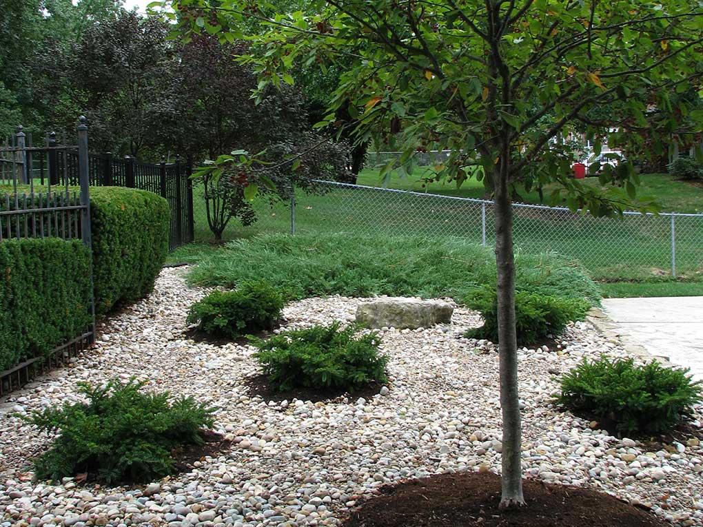 West County Backyard Rock Garden