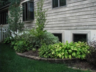 Chesterfield Side Yard Plantings