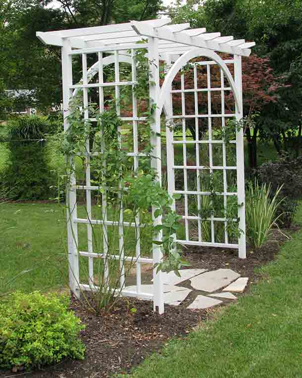 North County Arbor as Garden Entry